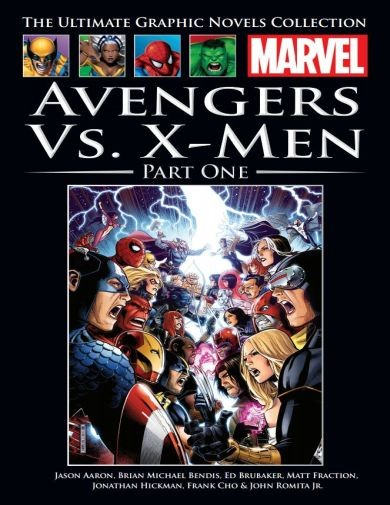 The Ultimate Graphic Novels Collection Avengers vs. X-Men (Part 1)