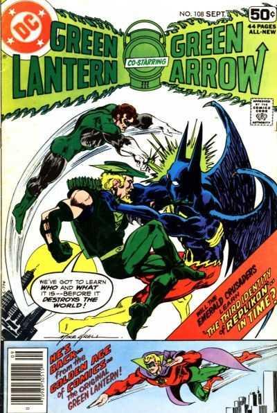 Green Lantern #108