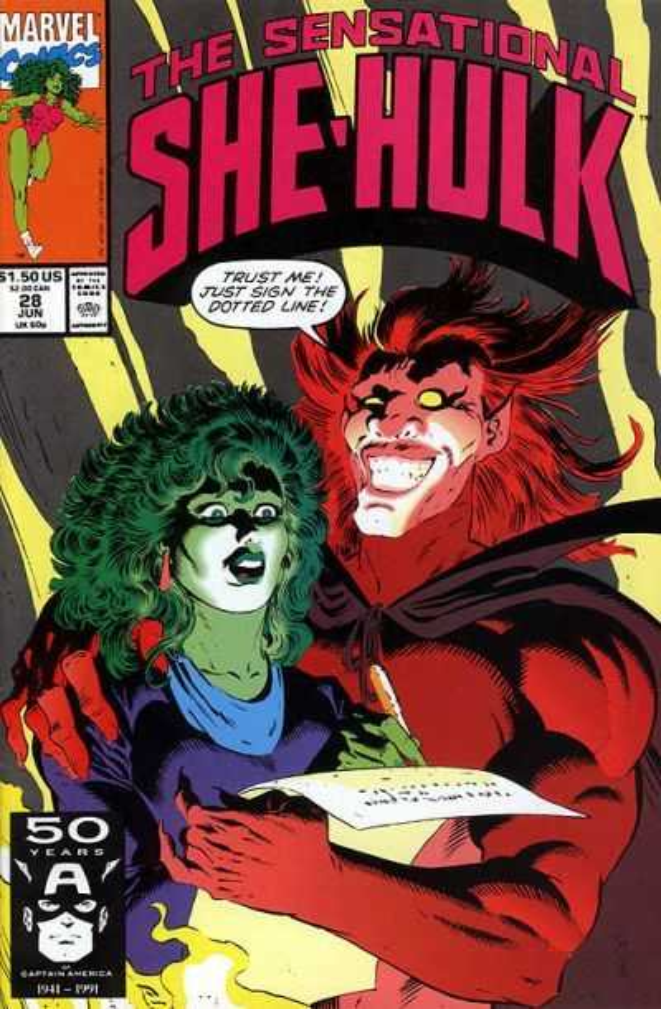 The Sensational She-Hulk #28