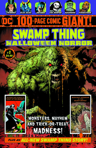 Swamp Thing Halloween Horror Giant #1