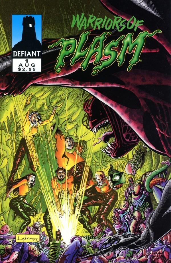 Warriors of Plasm #1