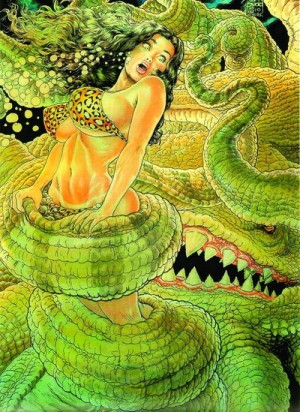 Cavewoman Prehistoric Pinups 7 Nude Cover