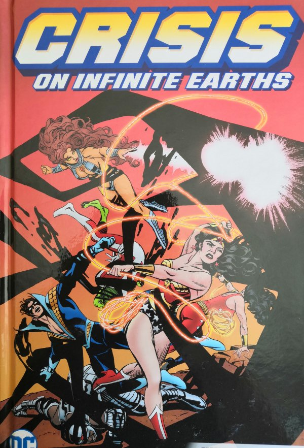 Crisis on Infinite Earths Justice League HC