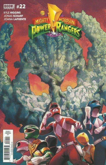 Mighty Morphin Power Rangers #22