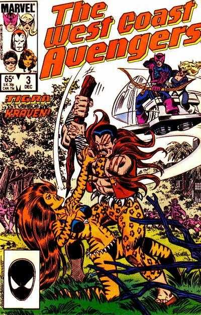 The West Coast Avengers #3