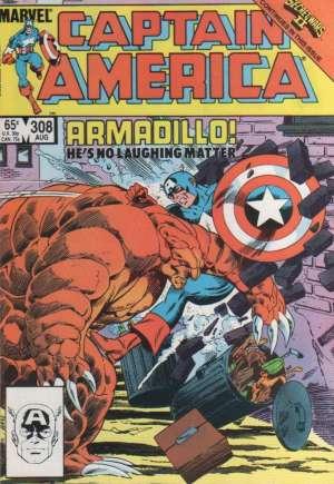 Captain America #308