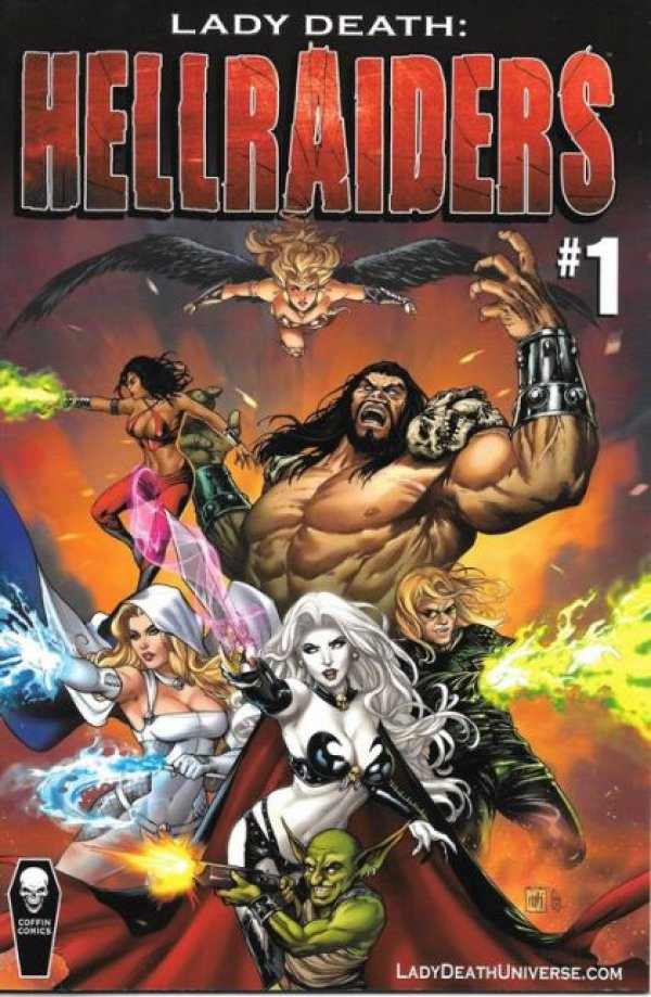 Lady Death:  Hellraiders #1