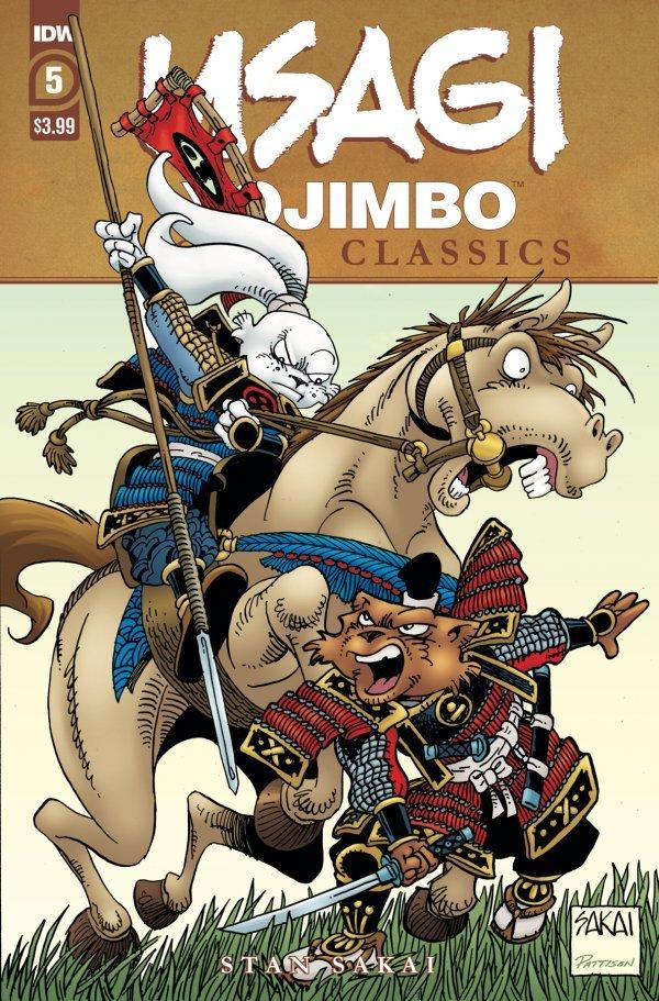 Usagi Yojimbo: Color Classics #5