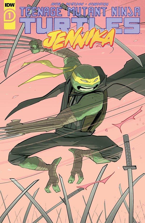 Teenage Mutant Ninja Turtles: Jennika #1