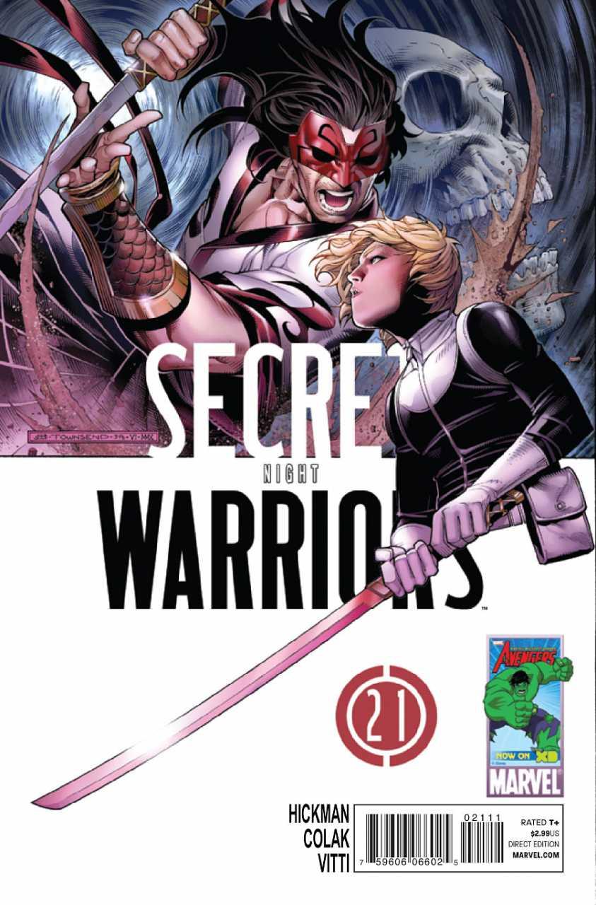 Secret Warriors #21