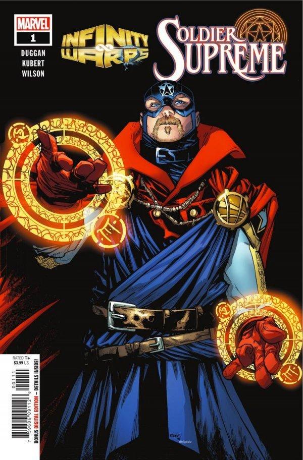Infinity Warps: Soldier Supreme #1
