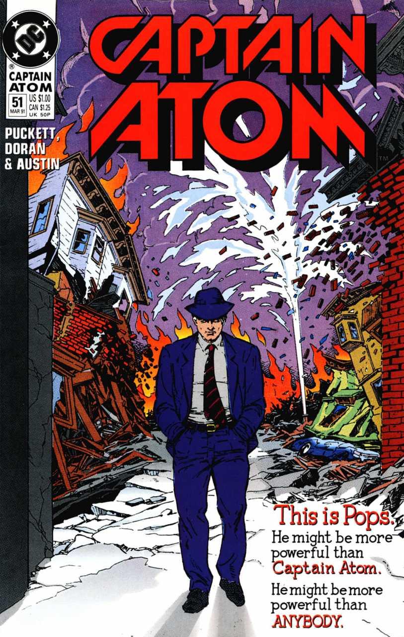 Captain Atom #51