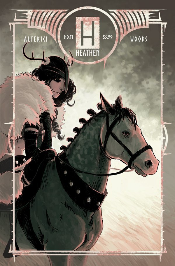 Heathen #11 review