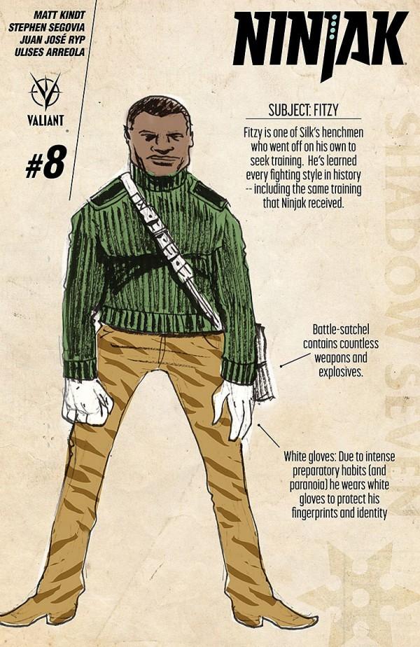 Ninjak #8