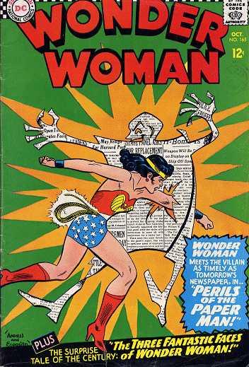 Wonder Woman #165