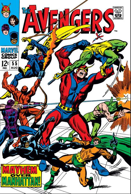 The Avengers #55