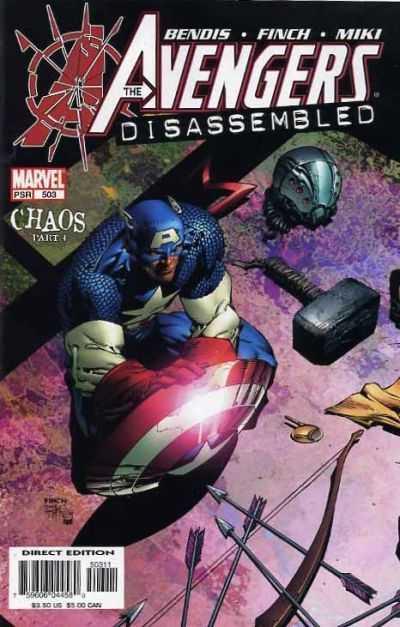 The Avengers #503