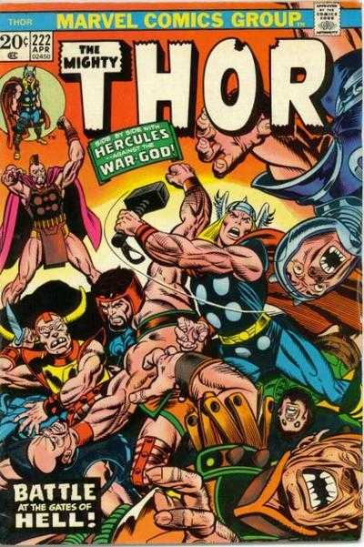 The Mighty Thor #222