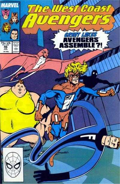 The West Coast Avengers #46