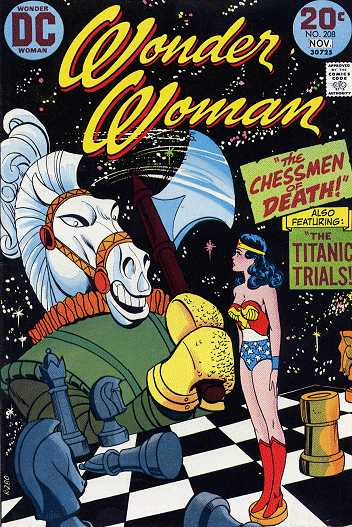 Wonder Woman #208