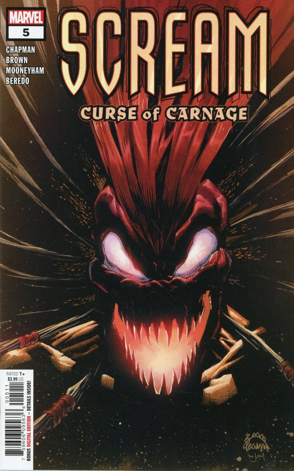 Scream: Curse of Carnage #5 review