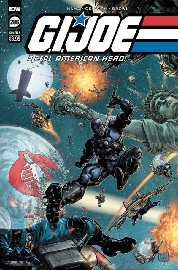 G.I. Joe: A Real American Hero #286