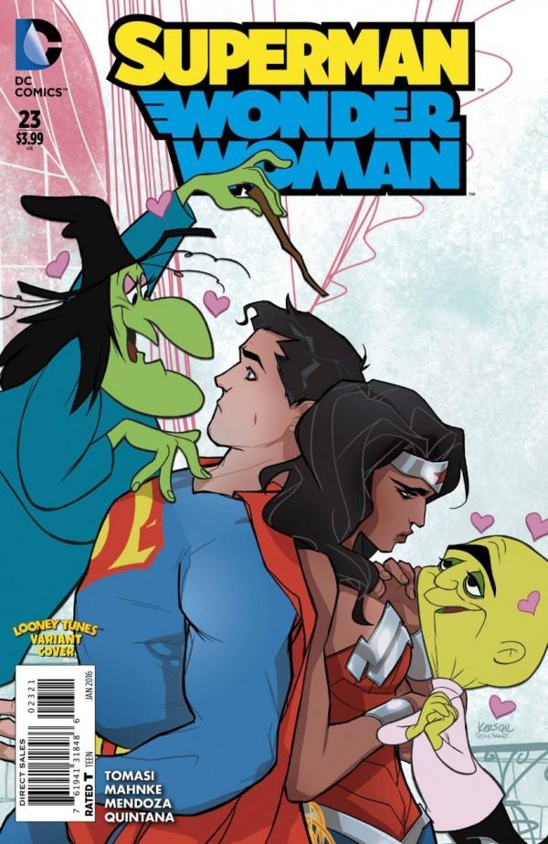 Superman / Wonder Woman #23