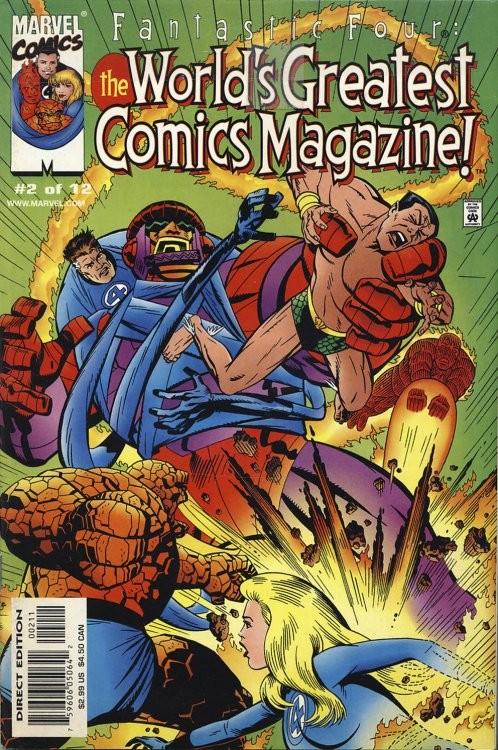 Fantastic Four: The World's Greatest Comics Magazine #2
