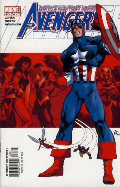 The Avengers #58