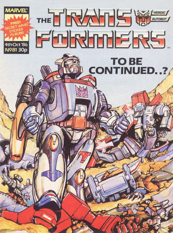 The Transformers #81