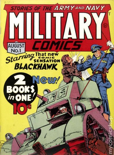 Military Comics #1