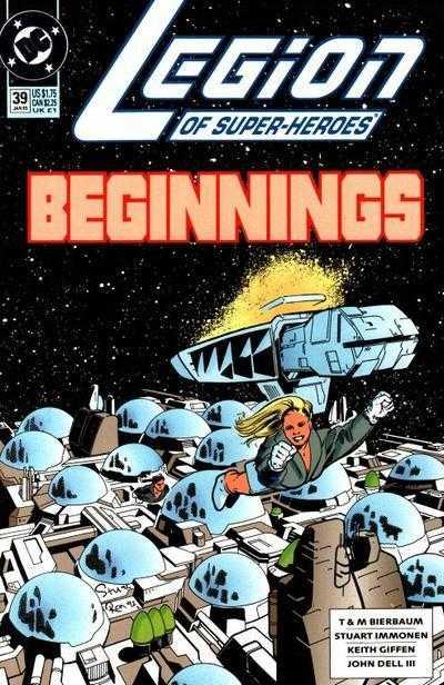 Legion of Super-Heroes #39