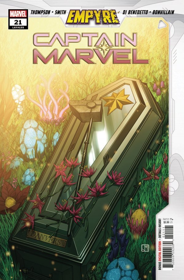 CAPTAIN MARVEL #20 • Cover #A 1ST ACCUSER CORPS Empyre Crossover Marvel 2020