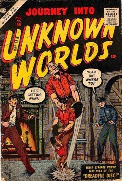 Journey Into Unknown Worlds #59