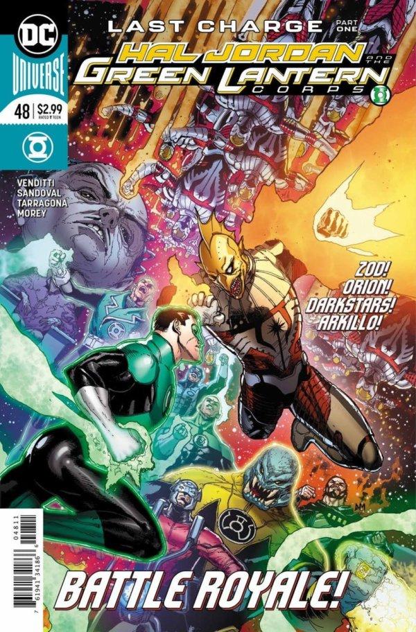 Hal Jordan and the Green Lantern Corps #48