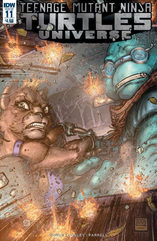 Teenage Mutant Ninja Turtles: Universe #11
