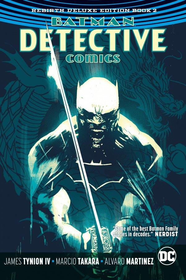 Detective Comics: The Rebirth Deluxe Edition Book Two HC