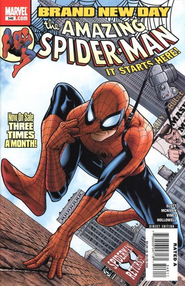 The Amazing Spider-Man #546