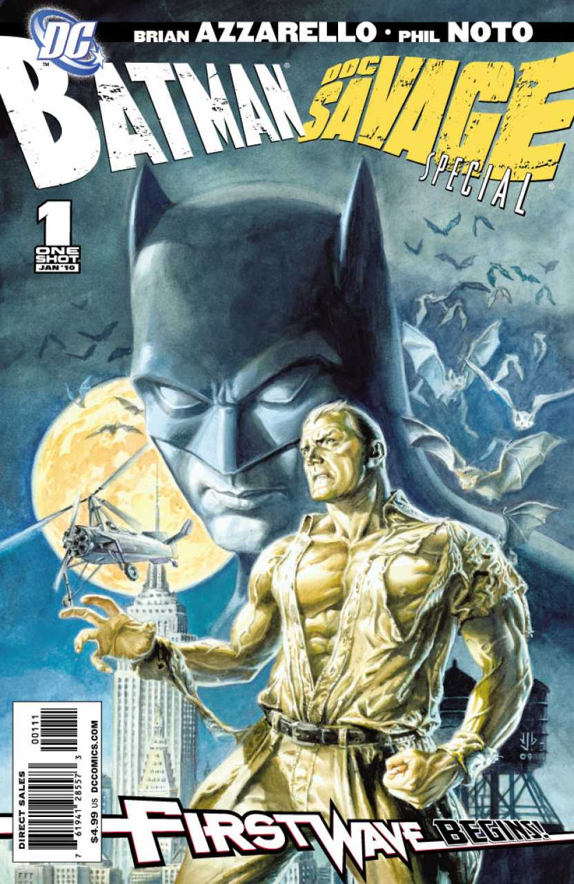 Batman/Doc Savage Special #1