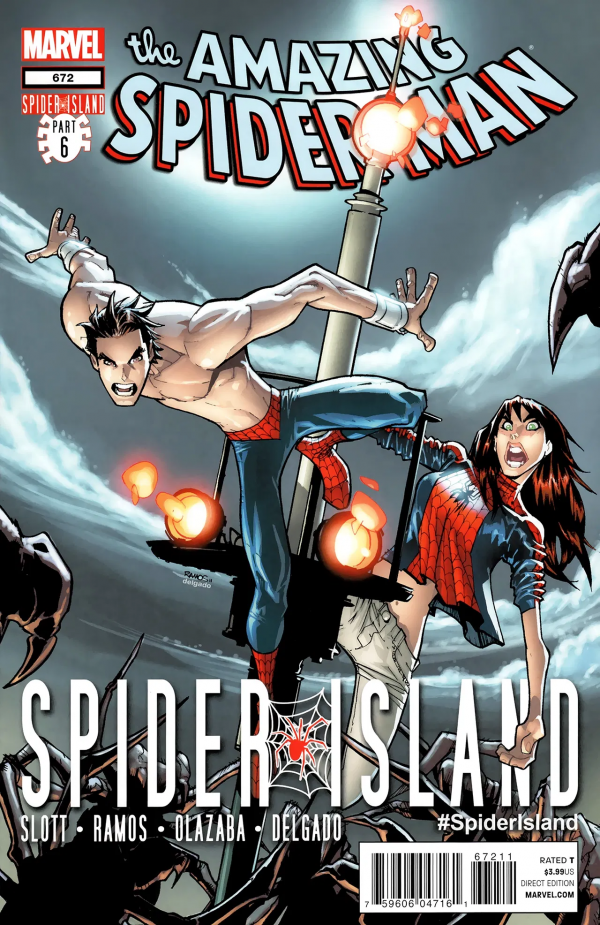 The Amazing Spider-Man #672