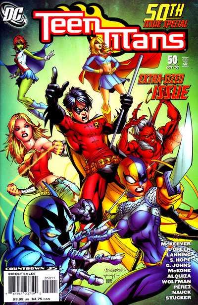 Teen Titans #50