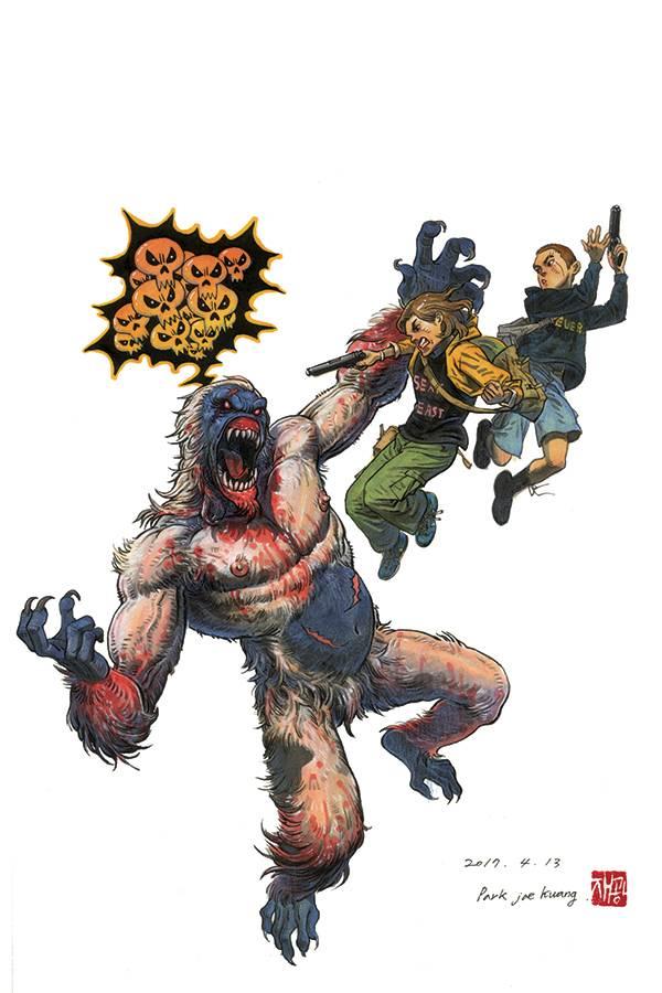 Gung-Ho: Sexy Beast #3