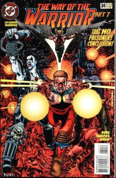 Guy Gardner: Warrior #34