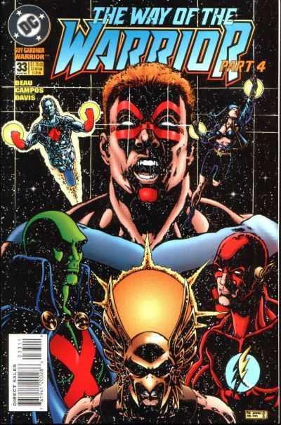 Guy Gardner: Warrior #33