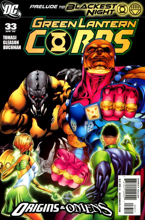 Green Lantern Corps #33