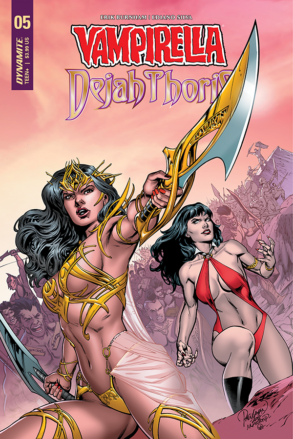 Vampirella / Dejah Thoris #5