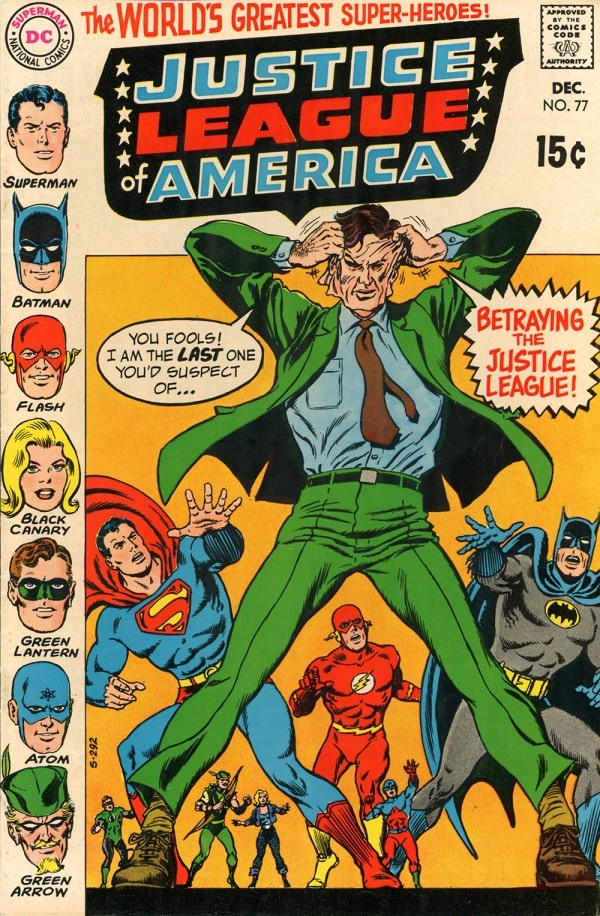 Justice League of America #77