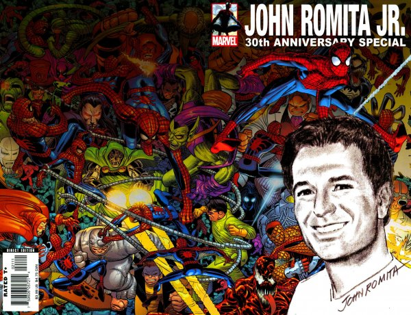 John Romita Jr  30th Anniversary Special Reviews