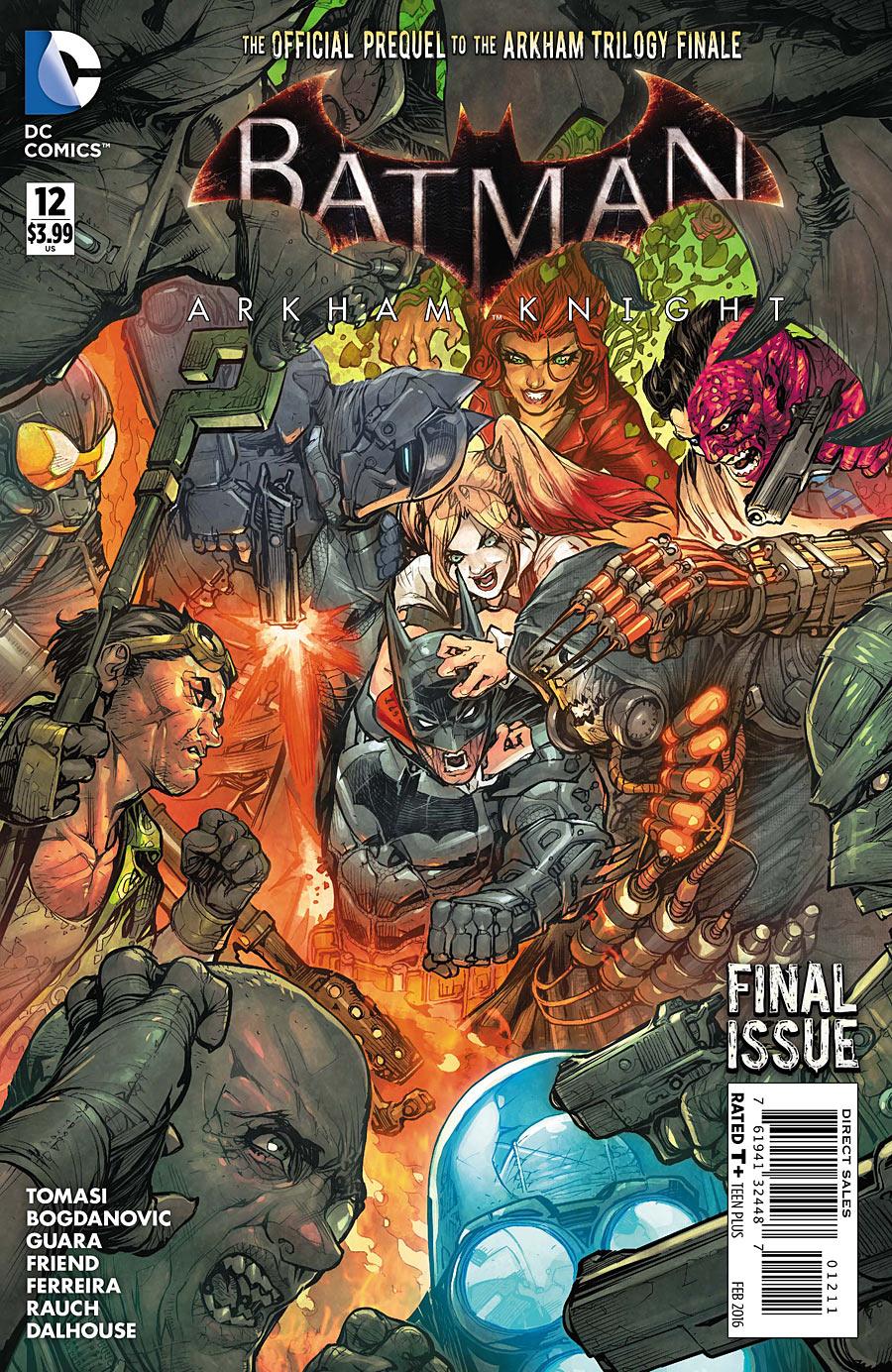 Batman: Arkham Knight #12