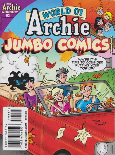 World of Archie Jumbo Comics Digest #93